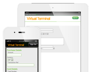 Free virtual terminal, accept phone payments, card payments over the